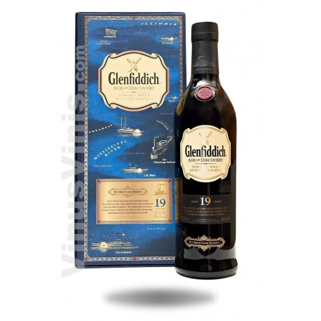 Whisky Glenfiddich 19 ans Age of Discovery Bourbon Cask Finish