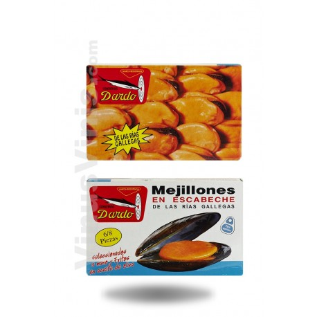 Dardo Mussels 6/8 Pieces Ov-120