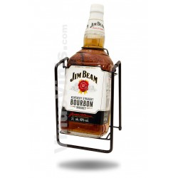 Whiskey Jim Beam White Label on Cradle (3L)