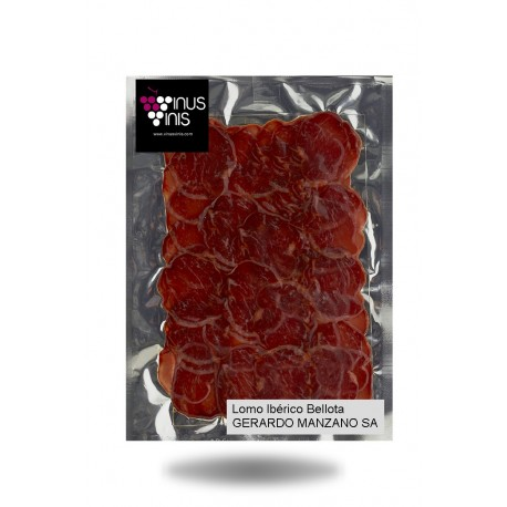 Iberian Bellota Sliced Cured Loin Gerardo Manzano 250 g.