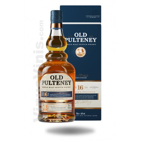 Whisky Old Pulteney 16 años