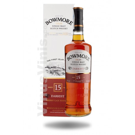 Whisky Bowmore 15 ans