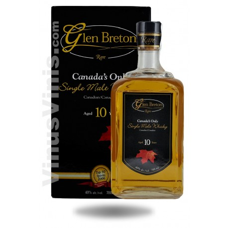 Whisky Glen Breton Years Old