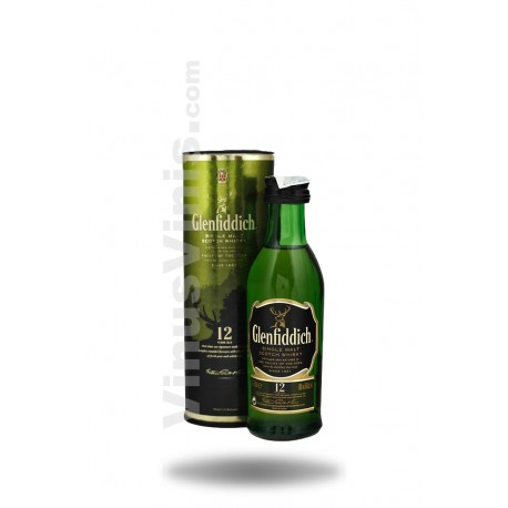 Whisky Glenfiddich 12 Years Old (5cl)